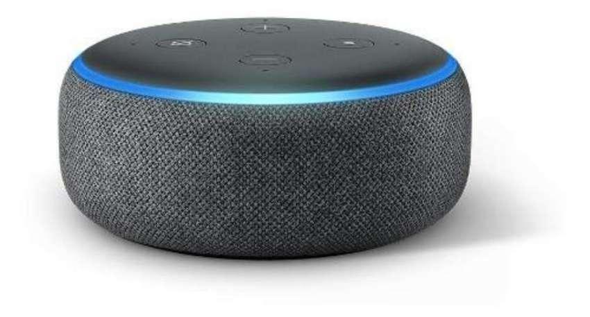 Amazon Echo Dot 3a Gen Alexa 0
