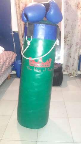 Guantes de boxeo + Bolsa de boxeo
