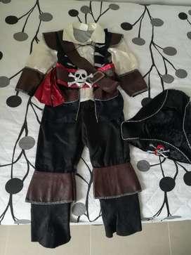 Disfraz de Pirata para Niño.