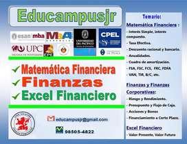 Profesor de matematica financiera y finanzas da Clases y/o asesoria