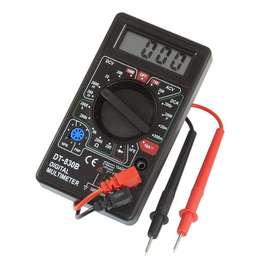 Tester Digital Multimetro Dt830d Buzzer - La Plata