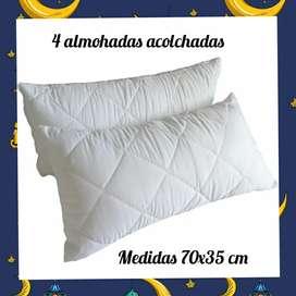 Set de almohadas x 5