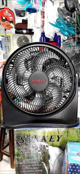 """VENTILADORES SANKEY 12"""", 6 aspas turbo silencioso, compacto."""