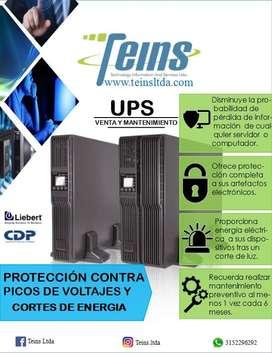 Protección contra picos de voltaje y cortes de energía