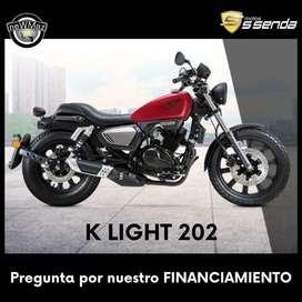 MOTO KEEWAY K LIGHT 202 - FINANCIADA
