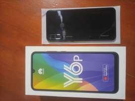 Huawei Y6P nuevo sin usar con caja, cargador y audífonos