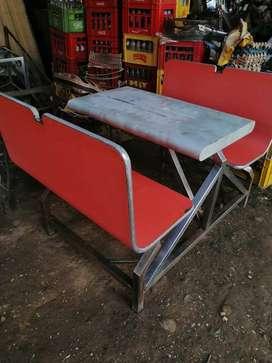 mesas 4 puestos para asadero