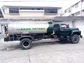 Venta de agua potable (TANQUERO)