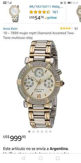 Reloj Anne Klein Diamond modelo 7899