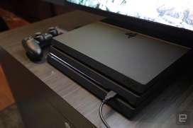 Playstation 4 Pro 5 juegos- Cuotas con tarjeta -