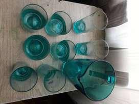 Jarra + vasos