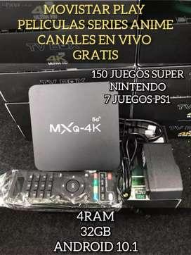 TV BOX 4 ram 32gb