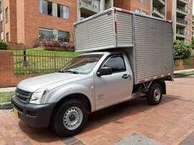 Luv Dmax 2008 diesel furgon