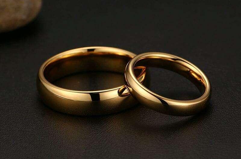 Anillos de Compromiso Matrimonio Oro 18k Plata Hombre Mujer Celular Tablet Ps4 S8 iPhone Boda 0