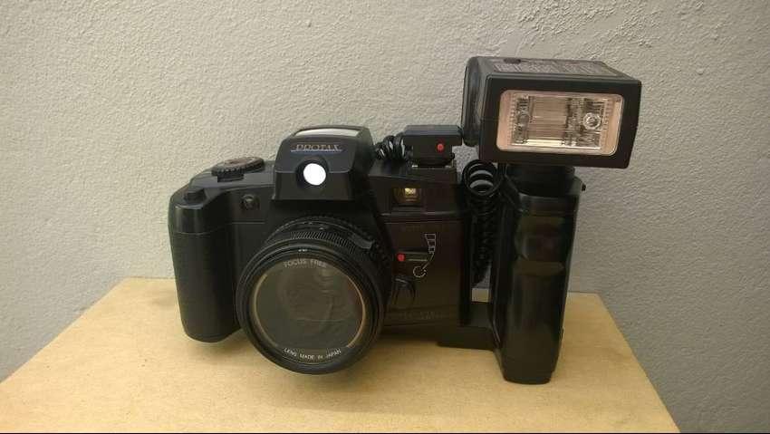 Cámara Foto Protax Flash Externo Y Agarre Leer Descripción