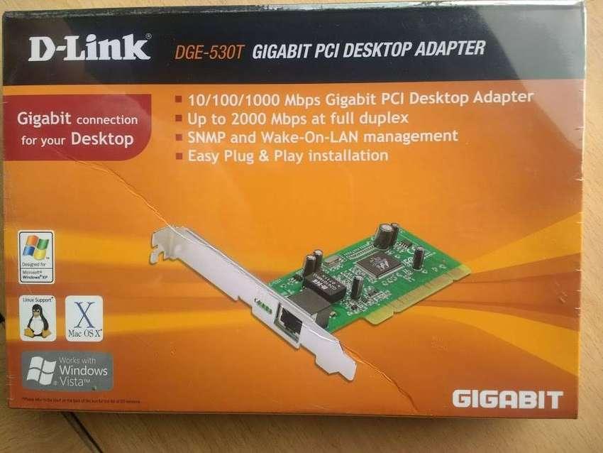 tarjeta RED Dlink DGE-530T Adaptador PCI Gigabit Ethernet RJ-45 0
