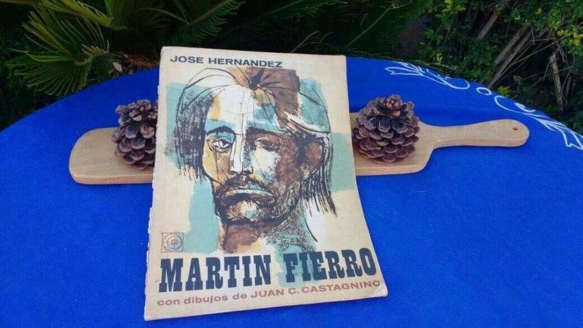 Martín Fierro autografiado por su dibujante  Castagnino 0