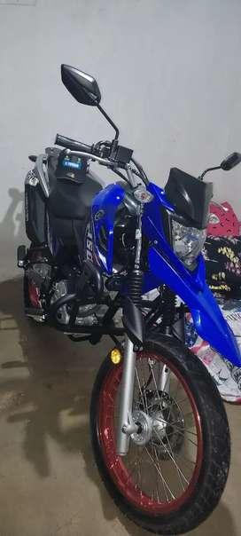 Vendo moto en muy buen estado todo aldi para traspasó