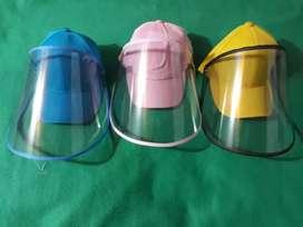 Gorras con protección visual