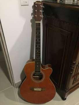 Guitarra electroacústica persian y eléctrica MCART con amplificador