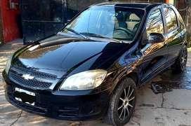 Vendo Chevrolet Celta spirit, 5P con equipo GNC Muy económico,llantas de aleación, titular al día. Excelente estado.