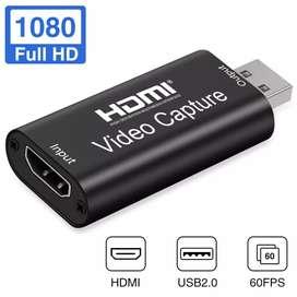 CAPTURADORA DE VIDEO HDMI 2.0