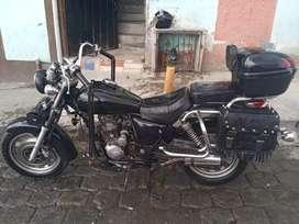 Moto ranger 200 pandillera