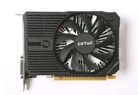 Vendo PLACA DE VIDEO Nvidia GTX 1050 Zotac 2gb DDR5!!!