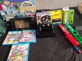 Wii U-32GB(incluye todo lo de la imagen)