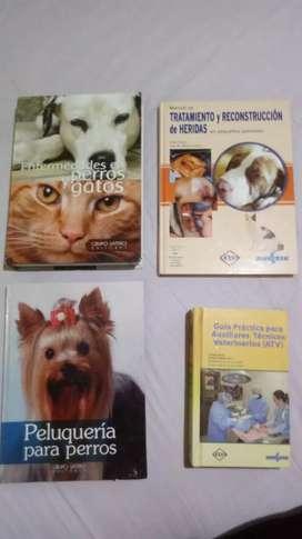 Vendo libros de consulta veterinaria