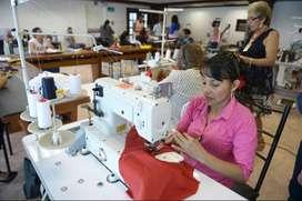 Trabajo INMEDIATO, se necesita costurera con experiencia comprobada