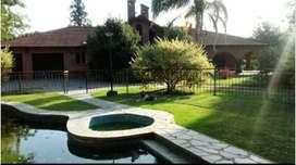 Fco Alvarez ctro Residencial Chalet Quinta s/5000 m2 c/piscina Cancha Tenis