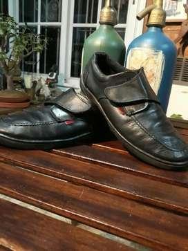 Zapatos Colegial Cuero Niño
