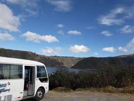 Servicio de transporte furgoneta buseta minibis flete