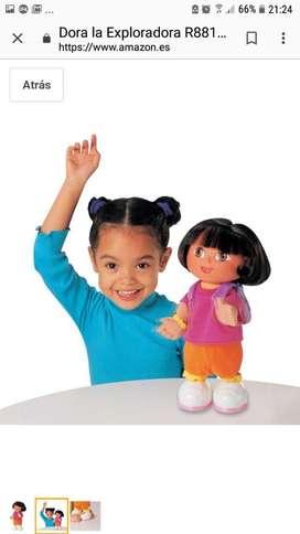 Muñeca Dora La Exploradora. Canta Baila