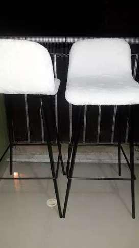 2 sillas bar modernas