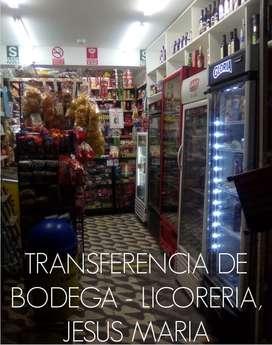 TRANSFERENCIA DE BODEGA LICORERIA