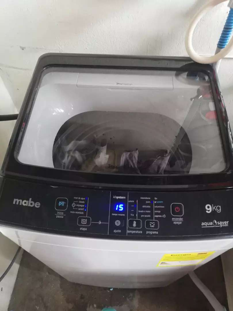 Lavadora mabe de 20 libras