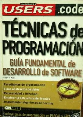 Libro Users - Técnicas de programación.