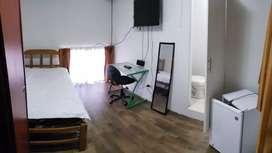 Habitación Baño propio amoblada cablewifi lavadora A. Caliente Jesús María S/700
