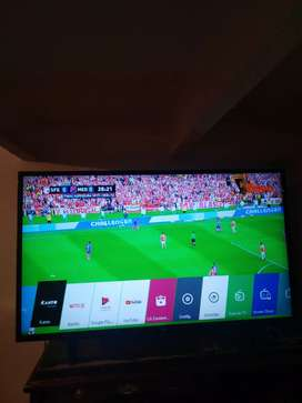 "TV LED SMART LG 43"" IMPECABLE"