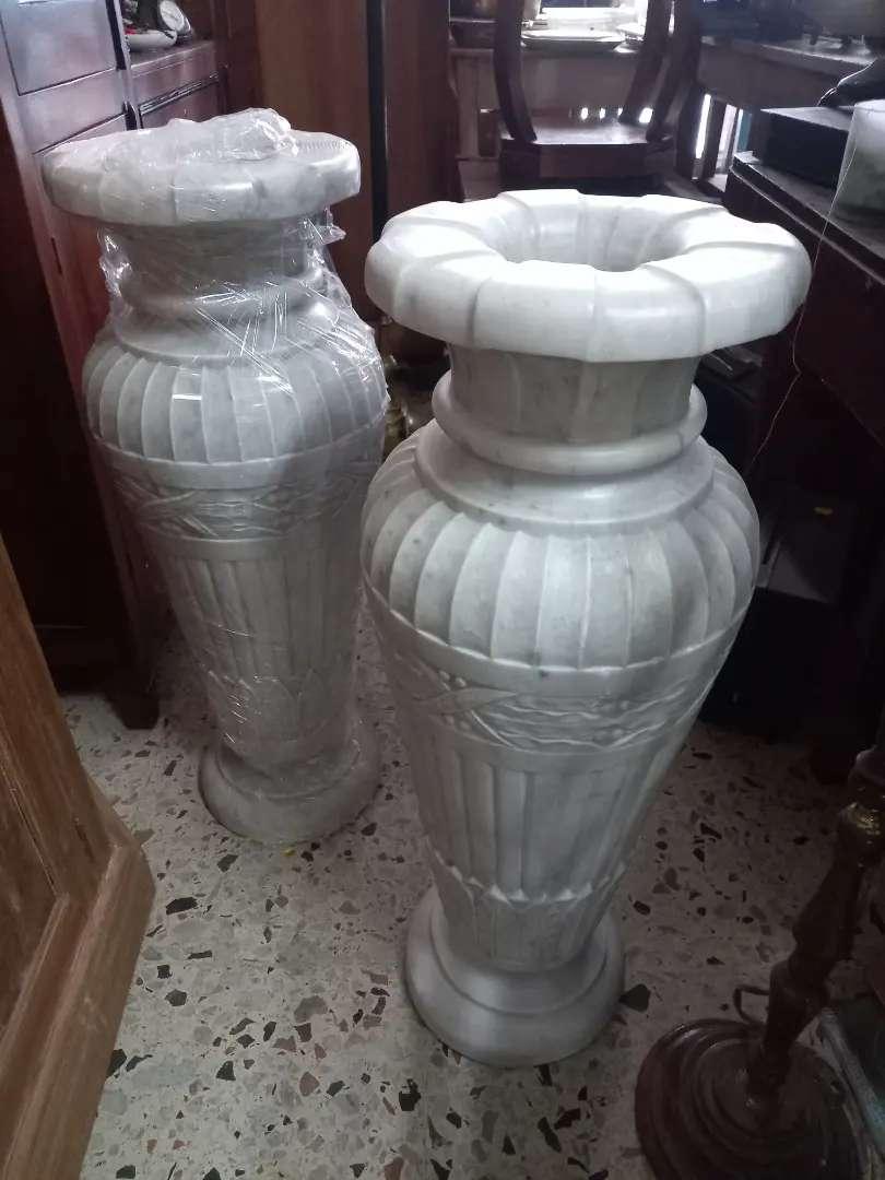Anforas en marmol