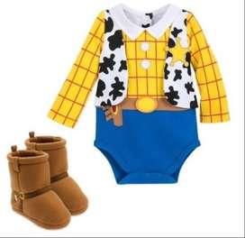Disfraz niño Woody Disney original toy story