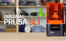 Impresora 3d Prusa Resina SL1 original mínimo uso