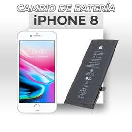 ¡Cambio de Batería Iphone 8!