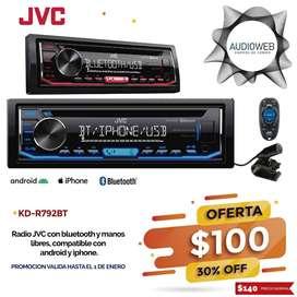 Radio JVC con bluetooth