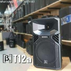 """CABINA ACTIVA DE 12"""" 1100W RMS / 133dB BETA3 T12A"""