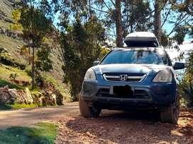 Camioneta version Ex Honda crv 2003  4x4  para tu comodidad
