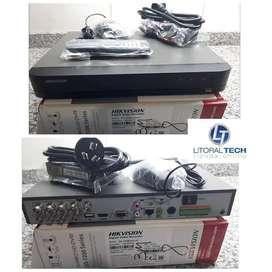 DVR Hikvision x8 , DS-7208HQHI-K1. 3 mpx