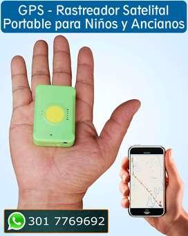 Localizador Satelital GPS Portable. Rastreador de personas Portátil y en Tiempo Real. Cali